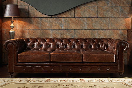 3 SEATER CHESTERFIELD SOFA A102