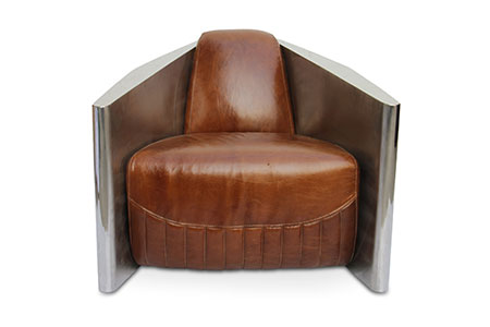 Tomcat Chair Industrial Leather