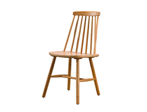 French Windsor Dining Chair Solid Ash Wood Classic Country