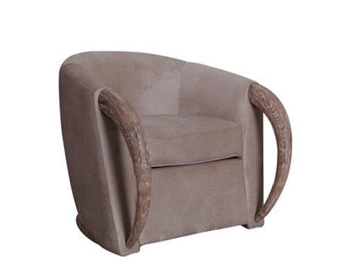 velvet armchair vintage