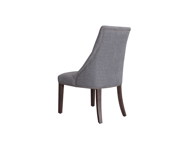 MARTINE TUFTED FABRIC ARMCHAIRS