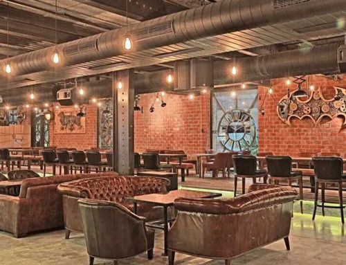 Vintage Industrial Bar and Restaurant projects – INDUSTRIAL DESIGN
